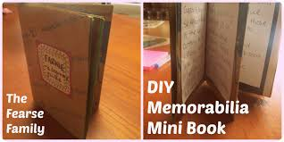 sentimental gifts for sentimental paper gifts diy memorabilia mini book the fearse family