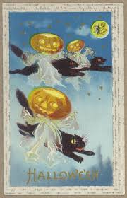 halloween vintage images vintage halloween postcards at toronto public library arts u0026 culture