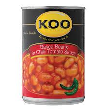 koo chilli beans 12 x 420g lowest prices u0026 specials online makro
