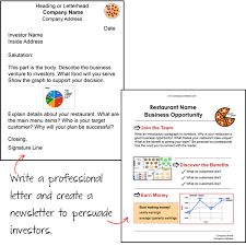 entrepreneurship worksheets for highschool students business