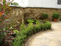Cute Cottage Garden Plus Rock Backyard Landscaping Idea Feat Great
