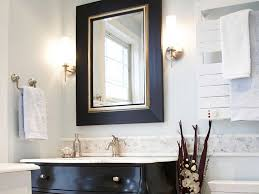 Bathroom Mirrors Brushed Nickel Bathrooms Design Lighted Mirror Recessed Bathroom Mirror