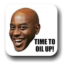 Ainsley Harriott Meme - ainsley harriott time to oil up internet meme drink coaster