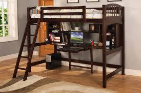 Desk Wall Bed Combo Bedroom Bedroom Furnitures Loft Bed Desk Combo With Dark Wood