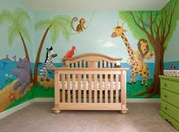 Jungle Nursery Wall Decor Baby Nursery Decor Ideas Baby Nursery Jungle Theme