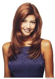 wigs medium length feathered hairstyles 2015 156 best причёски images on pinterest hair ideas hairstyles and