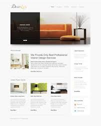 interior design websites home interior design responsive website template 39608