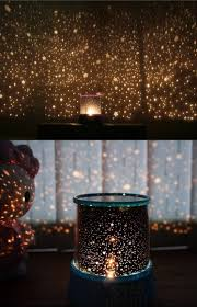 romantic star sky night cosmos projector light autorotate