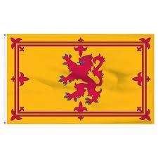 Christian Banner Flags Scotland Royal Lion Rampant Banner 4ft X 6ft Nylon Flag With