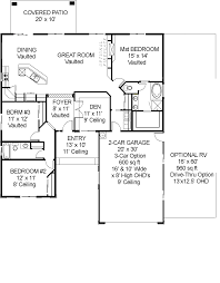 Garage Home Floor Plans by Apartments Astonishing Floor Plans Ideas Garage Home With Rv