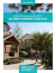 Nau Campus Map On Campus Apartment Guide By Nau Housing And Residence Life Issuu