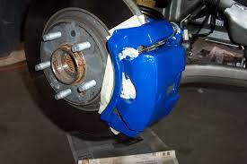 painted brake calipers on midnight blue sky saturn sky forums