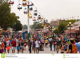 Iowa State Fair Map by Crowd At Iowa State Fair Editorial Stock Photo Image 43676863