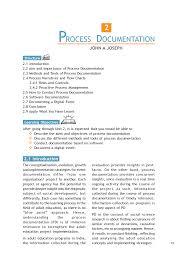 process documentation template automotive