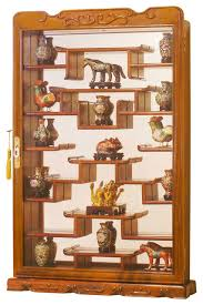 Display Cabinets Edmonton Rosewood Wall Curio Display Cabinet Asian Home Decor By