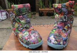 Decorated Walking Boot Decopatch Stock Photos U0026 Decopatch Stock Images Alamy