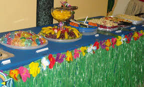 decor hawaiian decorations with decoration food lots assorted fruit