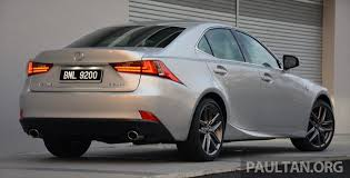 lexus is200t driven lexus is 200t turbo downsized at a price