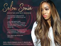 mobile hair extensions mobile luxury hair extensions salon bedfordview
