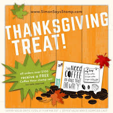 thanksgiving one day sale simon says st