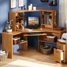 Corner Desk Shelves Awesome Corner Desk With Shelves Contemporary Liltigertoo