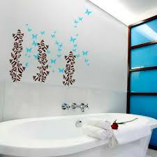 ideas for decorating bathroom walls a looking bathroom with some simple tips
