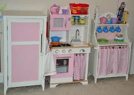 play kitchen from furniture pink wooden play kitchen set for kid furniture ideas