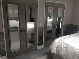 How To Build Bi Fold Closet Doors Mirror Bifold Closet Doors Design Buzzard