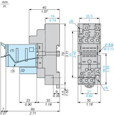 rxze2m114 socket rxz mixed contact 10a u003c 250v clamp
