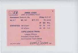 1988 ballpark cape cod league prospects base 3 jimmie jones