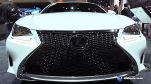 lexus rc 200t usa 2017 lexus rc 350 f sport exterior and interior walkaround