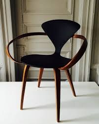 Furniture Chair Designs Form Black U0026 Wood Cherner Armchair The Way That The Armrests
