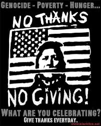 thanksgiving genocide capitalism werking gerl