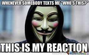 Anonymous Meme - anonymous reaction by redneckhipster meme center