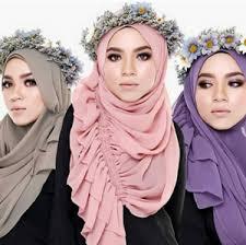 tutorial hijab pashmina untuk anak sekolah cara berhijab moderen