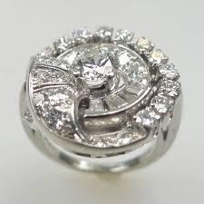 women u0027s platinum art deco diamond ring by garnet bros shapur