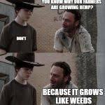 Rick Grimes Crying Meme - rick and carl long blank meme template imgflip