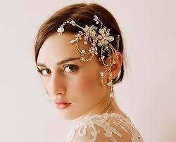 wedding headdress bump hair high end luxury diamond wedding headdress handmade