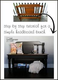 Repurposed Furniture Stores Near Me Headboard Bench Ideas 25 Projects My Repurposed Life
