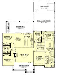 craftsman style house plan 3 beds 2 5 baths 2151 sq ft plan 430