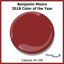 benjimin moore benjamin moore caliente af290 2018 color of the year