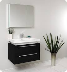 Fresca Bathroom Accessories Medio Black Modern Bathroom Vanity