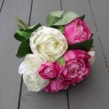 Fake Peonies Artificial Peonies Red Pink Ivory Silk Peony Flowers Permabloom