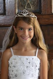 holy communion veils white angelic communion veil with tiara