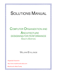 computer architecture and organization study notes summaries