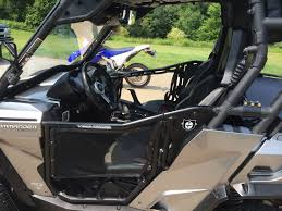 2 cool cab off with doors still on can am commander forum