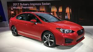 2017 subaru impreza sedan 2017 subaru impreza sedan and hatch debut at new york auto show