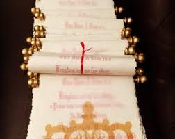 Scroll Invitation Rods Scroll Invitations Etsy