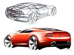 mustang design 2015 mustang from sketch to production car design