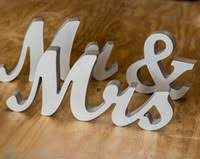 wholesale mr and mrs wooden letters buy cheap mr and mrs wooden